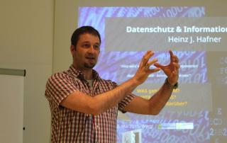 Heinz J. Hafner Datenschutz Informationsfreiheit Vortrag weltweit Vortragsbild
