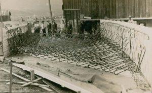 Müllnertal Brücke Wörgl - erbaut mit Freigeld 1933. Foto: Unterguggenberger Institut Archiv
