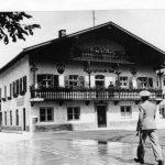 Das Wörgler Marktgemeindeamt in den 1930er Jahren. Foto: Unterguggenberger Institut Archiv