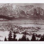 Wörgl im Winter in den 1930er Jahren. Foto: Unterguggenberger Institut Archiv