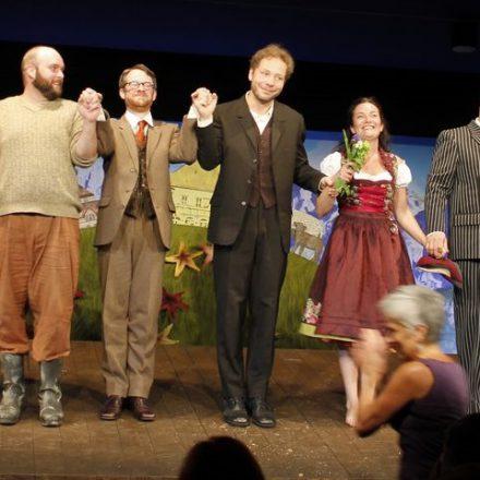 """Premiere """"Das Wunder von Wörgl"""" am 28. Mai 2016 in den Kammerspielen des Tiroler Landestheaters in Innsbruck. Foto: Veronika Spielbichler"""