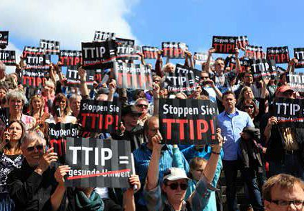 TTIP Demo. Foto: privat