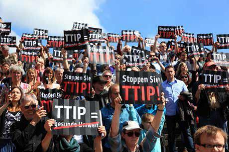 TTIP Demo. Foto: privat