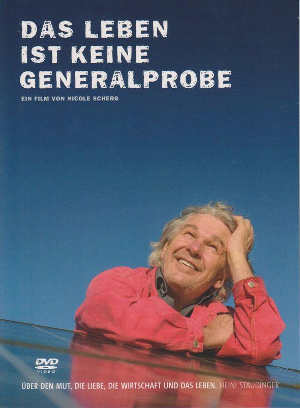 """DVD-Cover """"Das Leben ist keine Generalprobe"""" Bildnachweis: www.polyvideo.at"""