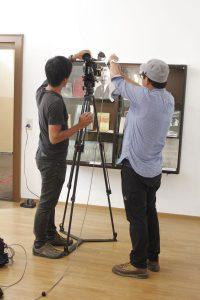 Filmdreh japanisches Fernsehen in Wörgl September 2016. Foto: Veronika Spielbichler