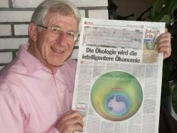 Franz Alt wird einer der Referenten beim fairventure-Kongress in Essen. Foto: sonnenseite.com