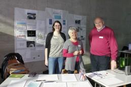 Manfred Blachfellner (rechts) – hier bei den Hochschultagen 2015 an der Uni Innsbruck – stellt am 11. Oktober 2017 im Wörgler Tagungshaus die Gemeinwohl-Ökonomie vor. Foto: Veronika Spielbichler