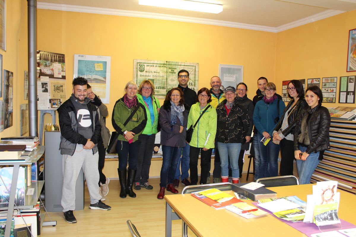 Ein Teil der Freigeld-Interessierten bei der Komm!unity-Veranstaltung im Unterguggenberger Institut in Wörgl. Foto: Komm!unity