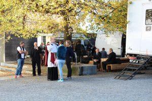 """Medien-Setbesuch """"Der Geldmacher"""" am 18. Oktober 2017. Foto: Christian Spielbichler"""