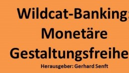 Banner Wildcat-Banking. Gerhard Senft - Foto WU Wien