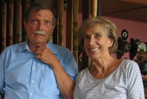 Buchautor Dr. Wolfgang Broer und Lia Rigler-Unterguggenberger im August 2006. Foto: Unterguggenberger Institut