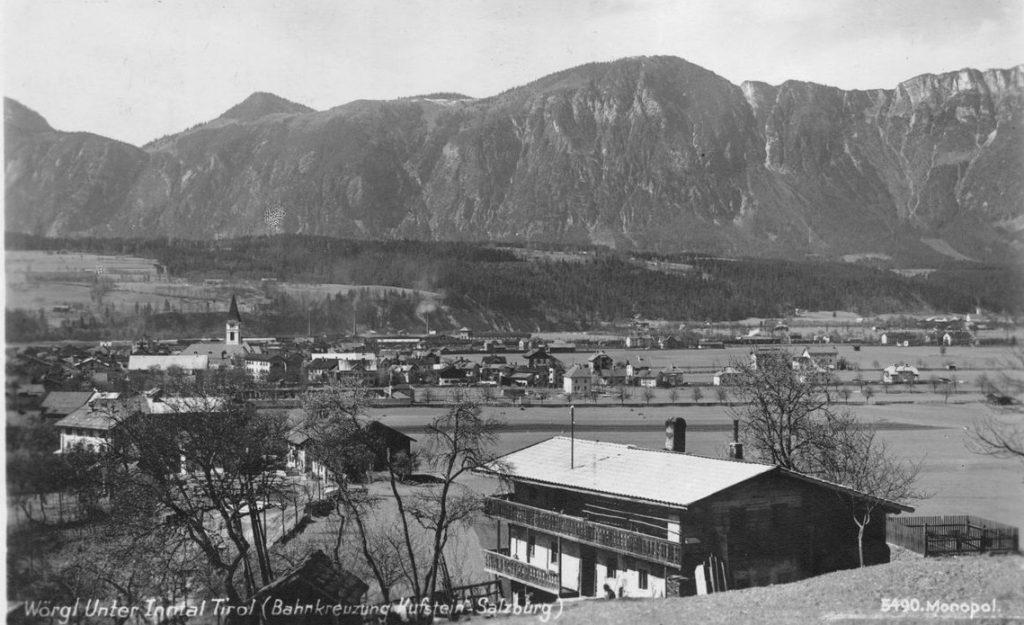 Wörgl in den 1930er Jahren. Foto: Stadtarchiv