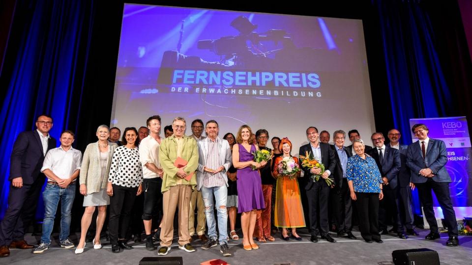Bei der Verleihung der 51. Fernsehpreise der Erwachsenenbildung am 25. Juni 2019 in Wien. Foto: ORF Thomas Jantzen