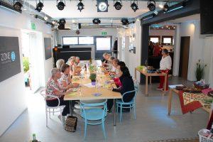 Mittagessen in der Zone Wörgl. Foto: Spielbichler
