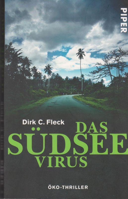 """Buchcover """"Das Südsee Virus"""" von Dirk C. Fleck"""