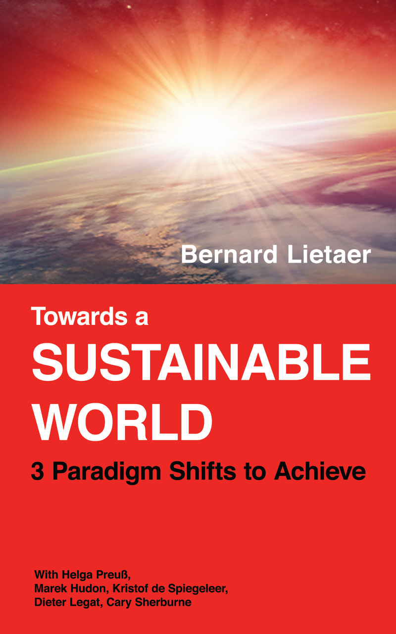 "Buchcover ""Towards a SUSTAINABLE WORLD"". Foto: https://sustainable-world.ch"