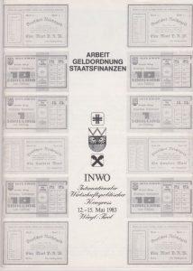 INWO-Kongress-Programm 1983