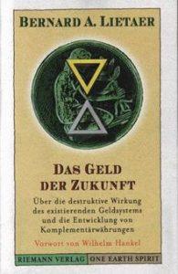 """Buchcover Erstausgabe """"Das Geld der Zukunft"""". Grafik: Riemann Verlag"""