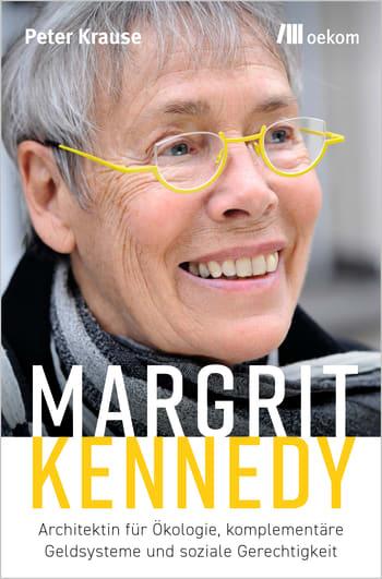 Buchcover Margrit Kennedy. Foto: oekom Verlag