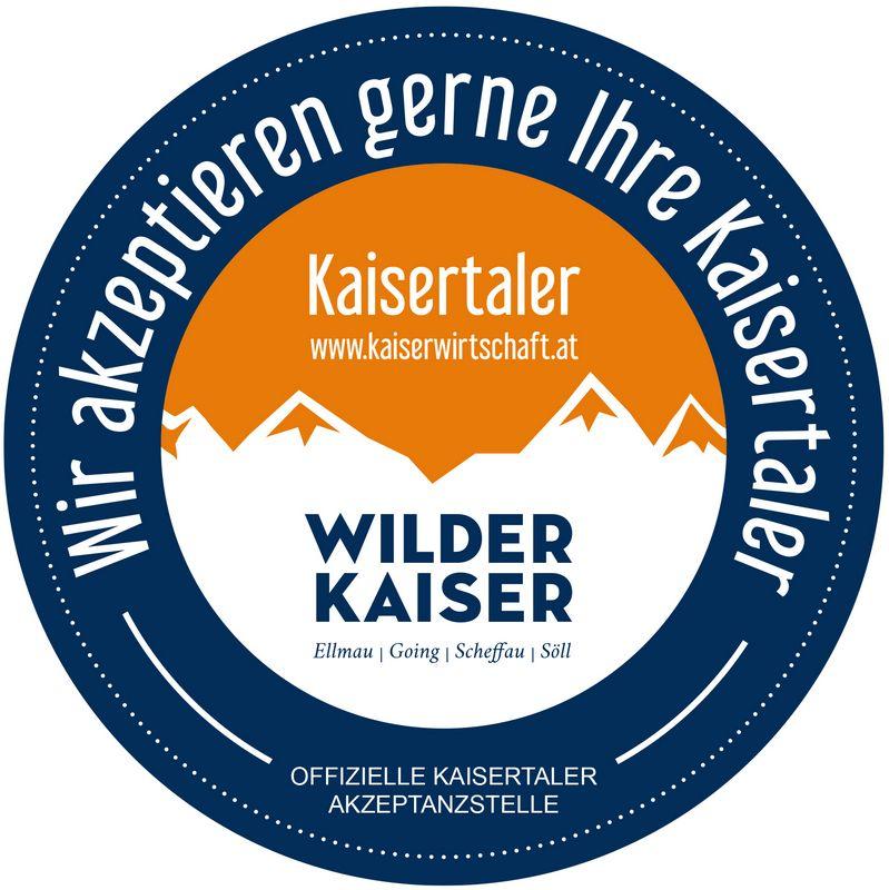 Kaisertaler Akzeptanzstellen. Bildnachweis: www.kaiserwirtschaft.at