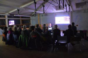 """Filmabend in Rosenheim am 22.2.2020 - """"Der Geldmacher"""". Foto: Veronika Spielbichler"""