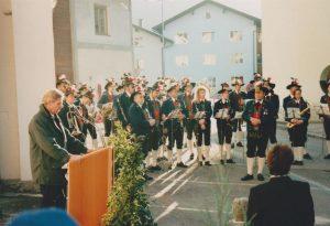 Unterguggenberger Ausstellung im Wörgler Heimatmuseum - Eröffnung 9.11.1996. Foto: Spielbichler