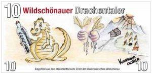 Rückseite Wildschönauer Drachentaler. Bildnachweis: Wildschönauer Wirtschaft