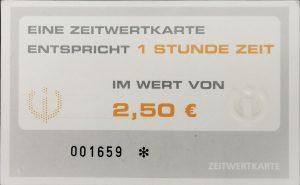 I-motion Zeitwertkarte Rückseite. Bildnachweis: Unterguggenberger Institut