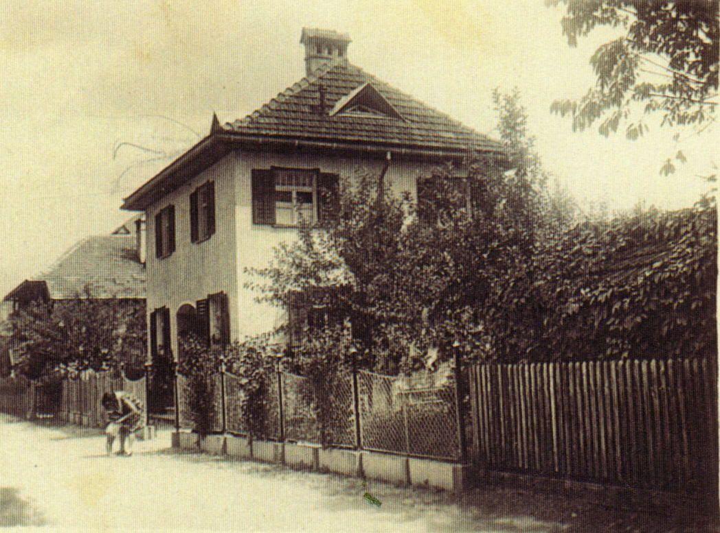 Unterguggenbergers Haus in der Jahnstraße kurz nach der Fertigstellung 1924. Foto: Unterguggenberger Institut Archiv